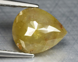 1.29 Cts Untreated Natural Fancy Intense Yellow Color Loose Diamond