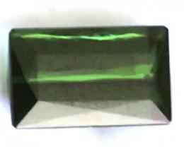 Lovely Lusterous Commando Green Baguette Cut 3.39 ct Tourmaline - Brazil G2