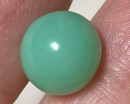 ⭐3.70ct Beautiful Tanzanian Chrysoprase Cabochon No Reserve