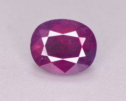 Rare 2 Ct Natural Corundum Pink Sapphire From Kashmir