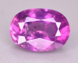 Rare 1.05 Ct Natural Corundum Pink Sapphire From Kashmir
