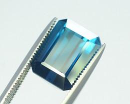 6.40 Carats Indicolite Color Tourmaline Gemstones