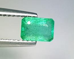 """0.40 ct  """" Top Grade Gem  """" Fantastic Octagon Cut Natural Emerald"""
