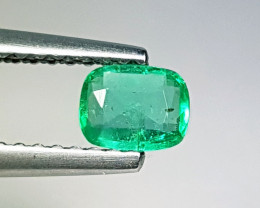 "0.35 ct "" Top Grade Gem"" Cushion Cut  Natural Emerald"