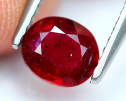 0.84Ct Natural Burmese Pigeon Blood Red Ruby Heated Only  A0872