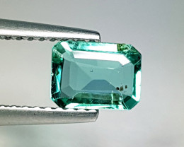 """0.92 ct """"Excellent Gem"""" Fantastic Emerald Cut Natural Emerald"""