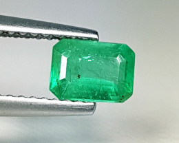 """0.75 ct """"Exclusive Gem"""" Fantastic Emerald Cut Natural Emerald"""