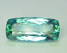 16.90 ct Green Spodumene Gemstone From Afghanistan T