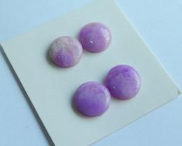 ziyun mother jasper cabochons earrings ,gemstone earrings ,healing stone A8