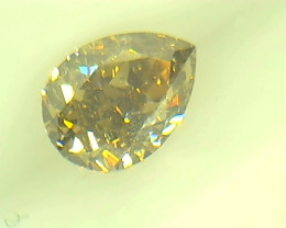 0.29ct Fancy Light Brown   Diamond , 100% Natural Untreated