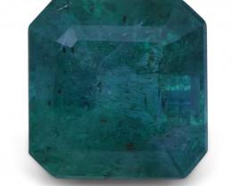 2.94 ct Square Emerald