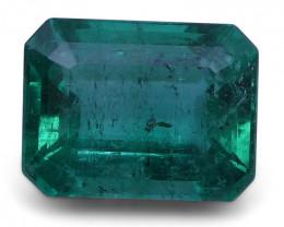 2.31 ct Emerald Cut Emerald