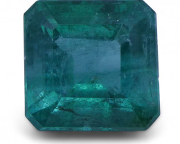 2.99 ct Square Emerald