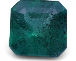 1.92 ct Square Emerald