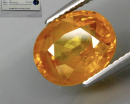 5.18 ct SAPPHIRE- Yellow-SALE COLLECTION! -
