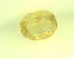 0.225ct  Fancy Brown Yellow Diamond , 100% Natural Untreated