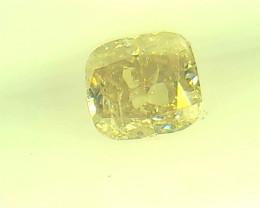 0.20ct Fancy Light greenish Yellow  Diamond , 100% Natural Untreated