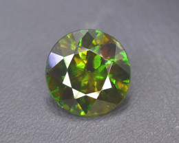 4.45 cts Natural Full Fire Chrome Sphene Titanite Gemstone