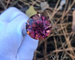 Precision-cut Pink Tourmaline - 31.87 carats