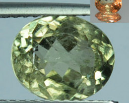 ~RAREST~ 2.44 Cts Natural Color Change Diaspore Oval Cut Turkey
