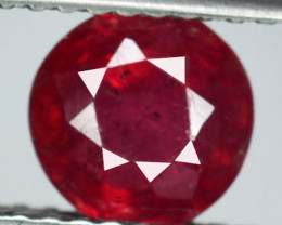 1.46 Cts Pigeon Blood Red Composite Ruby Round mix Mozambique