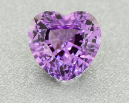 Unheated Sapphire 0.76 Ct Amazing Gemstone Heart  Well Cut