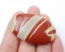 86cts Red river jasper gemstone oval cab wholesale cabochon A904