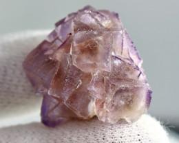 114.60 CT Natural - Unheated Purple Fluorite Mineral Specimen