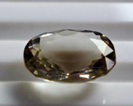 4.10 CT Natural - Unheated Lemon Quartz Faceted Gemstone