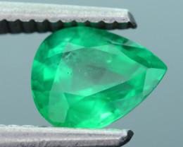 AIG Certified Top Color 1.17 ct Zambian Emerald SKU-28
