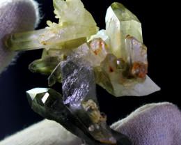 284 CT Natural - Unheated Green Quartz Crystal Specimen