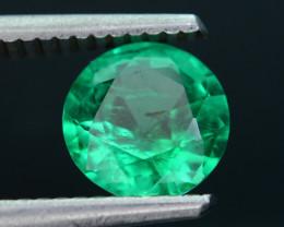 AIG Certified Top Color 1.30 ct Zambian Emerald SKU-28