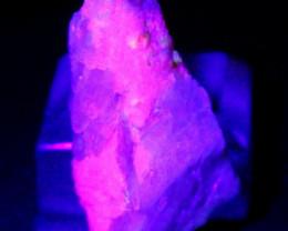 189.60 CT Natural -UV Light Color Change  Purple Hackmanite Specimen