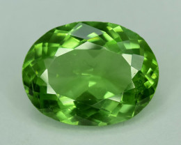 6.85 ^ Carats Oval Cut Natural Olivine Green Natural Peridot Gemstone