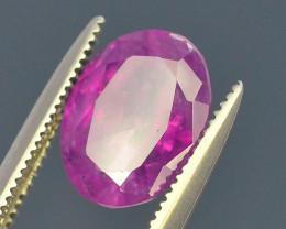 Top Garde 2.75 ct Untreated Pink Corundum Kashmir Sapphire