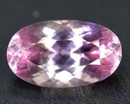 NR Auction - 11.90 cts Natural Pink Color Kunzite Gemstone