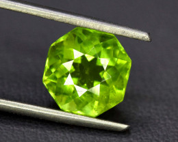 NR Auction ~ 3.60 Carats Olivine Green Natural Peridot Gemstone