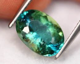 2.74Ct Natural Color Change Green Apatite A1022