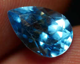 1.90 CRT LOVELY SWISS BLUE TOPAZ VERY CLEAR-