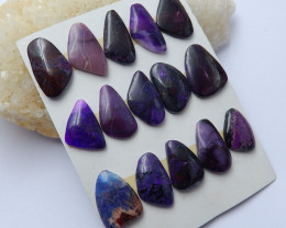 New arrival rare sugilite cabochons designer beads wholesale A924
