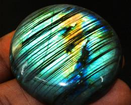 Genuine 136.00 Cts Green Flash Labradorite Gemstone