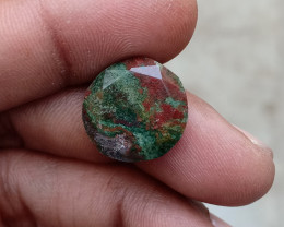 BLOOD STONE ROSE CUT GEMSTONE RARE Natural+Untreated VA2267
