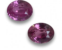Natural Pink Sapphire PAIR|Certified | Loose Gemstone | - New
