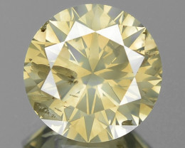 1.35 Cts Untreated Natural Fancy Greenish Yellowish Brown Diamond