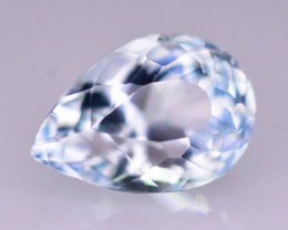 1.70  Ct Superb Color Natural Blue Aquamarine