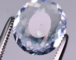 2.05 Ct Brilliant Color Natural Aquamarine