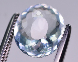 1.65  Ct Brilliant Color Natural Aquamarine