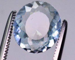 1.75  Ct Brilliant Color Natural Aquamarine