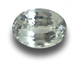 Natural Unheated White Sapphire Loose Gemstone New  Sri Lanka