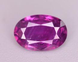 Rare 0.65 Ct Amazing Color Natural Corundum Sapphire From Kashmir